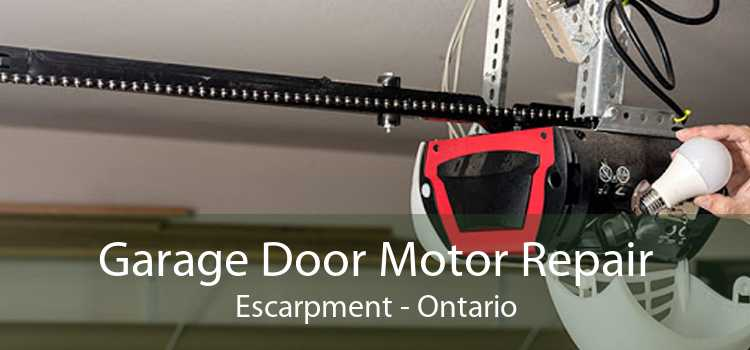 Garage Door Motor Repair Escarpment - Ontario