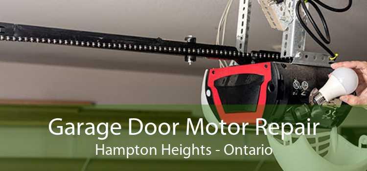 Garage Door Motor Repair Hampton Heights - Ontario