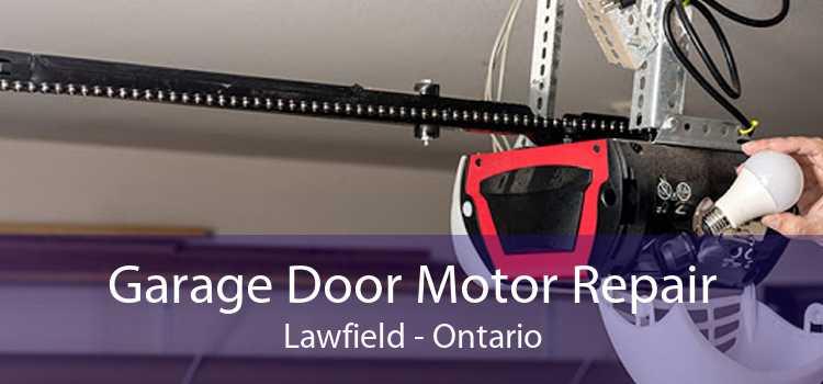 Garage Door Motor Repair Lawfield - Ontario