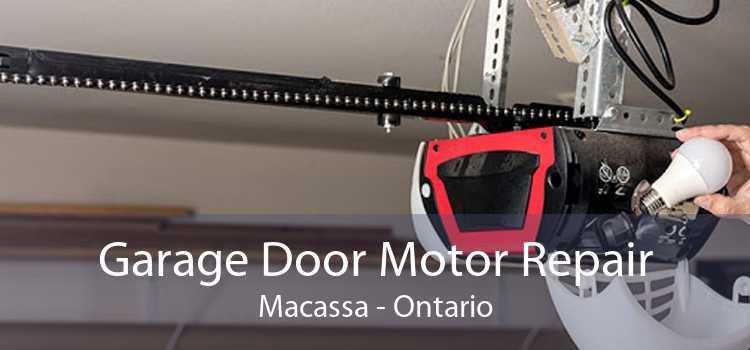 Garage Door Motor Repair Macassa - Ontario