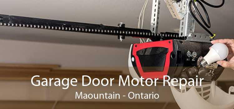 Garage Door Motor Repair Maountain - Ontario