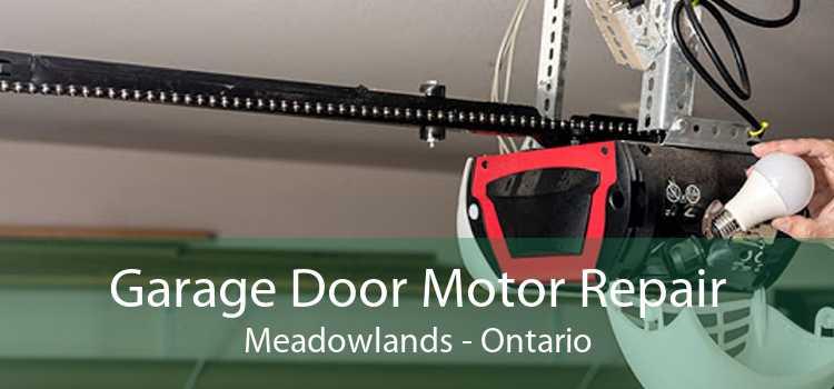 Garage Door Motor Repair Meadowlands - Ontario