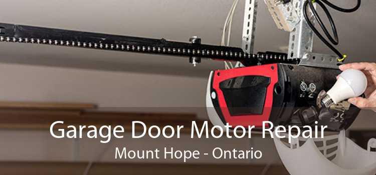 Garage Door Motor Repair Mount Hope - Ontario