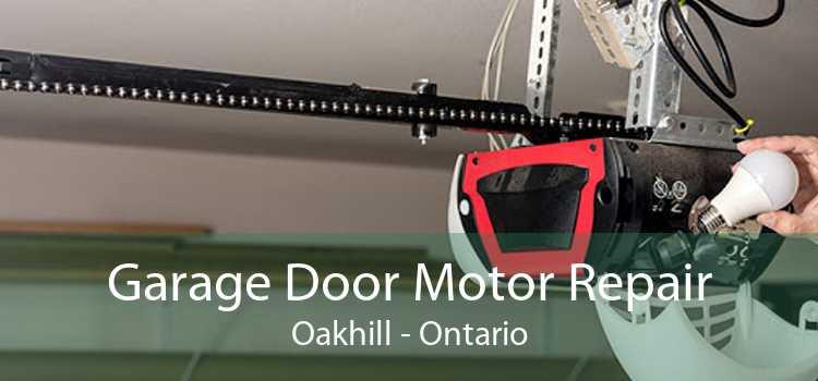 Garage Door Motor Repair Oakhill - Ontario