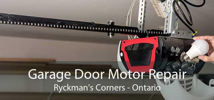 Garage Door Motor Repair Ryckman's Corners - Ontario
