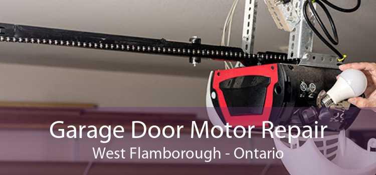 Garage Door Motor Repair West Flamborough - Ontario