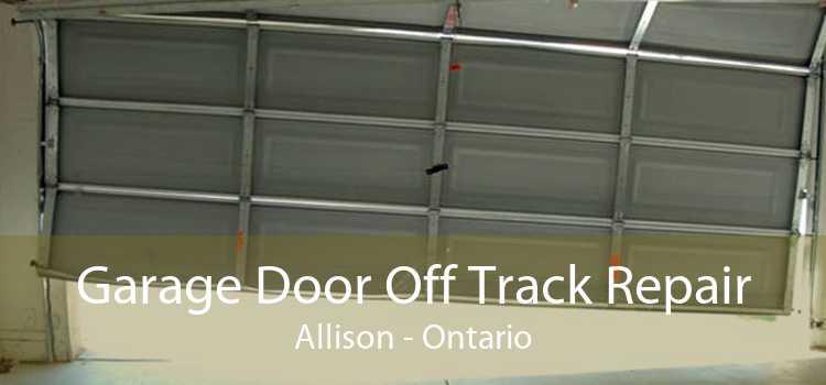 Garage Door Off Track Repair Allison - Ontario
