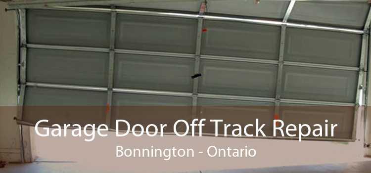 Garage Door Off Track Repair Bonnington - Ontario