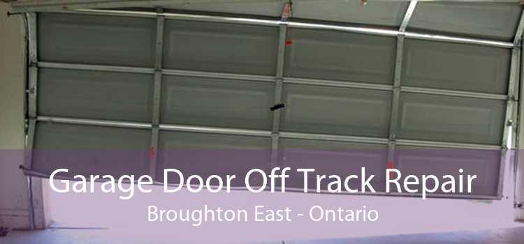 Garage Door Off Track Repair Broughton East - Ontario