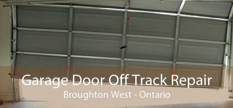 Garage Door Off Track Repair Broughton West - Ontario
