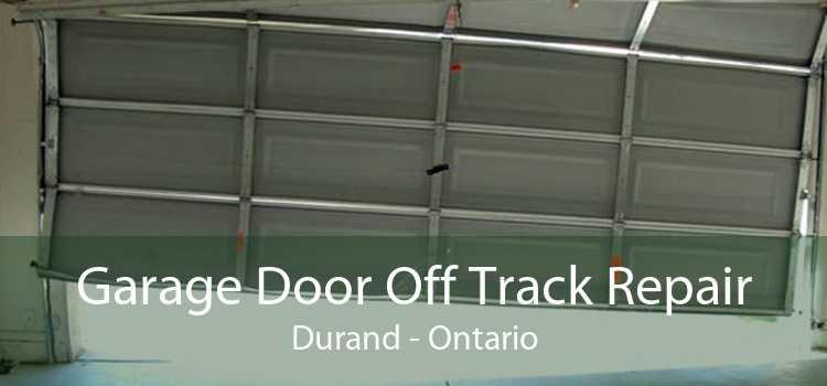 Garage Door Off Track Repair Durand - Ontario