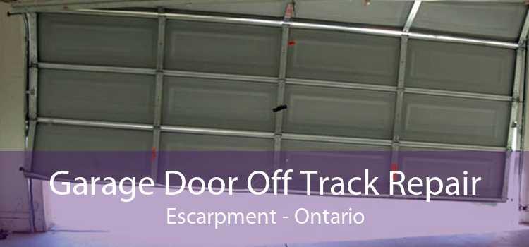 Garage Door Off Track Repair Escarpment - Ontario