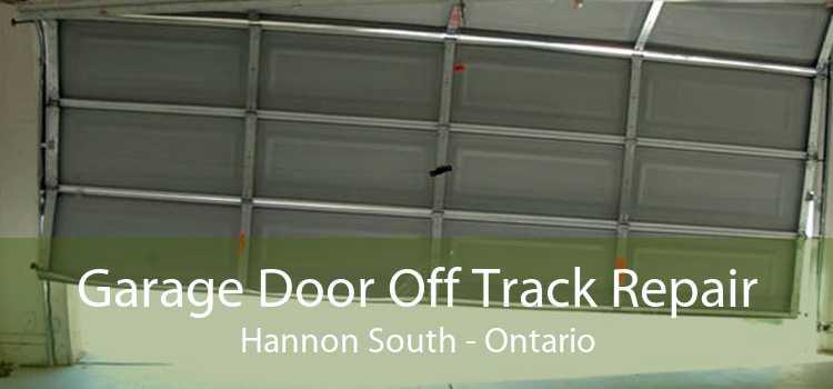 Garage Door Off Track Repair Hannon South - Ontario