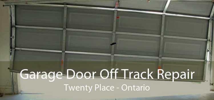 Garage Door Off Track Repair Twenty Place - Ontario
