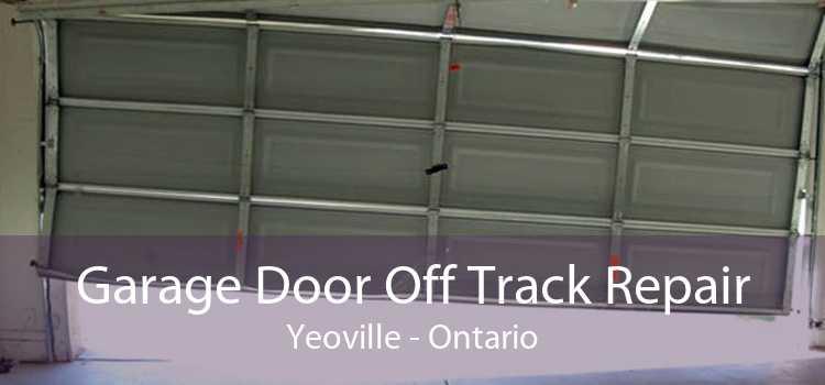 Garage Door Off Track Repair Yeoville - Ontario