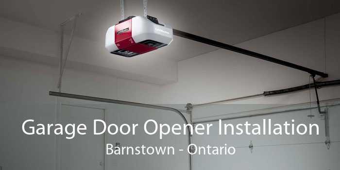 Garage Door Opener Installation Barnstown - Ontario