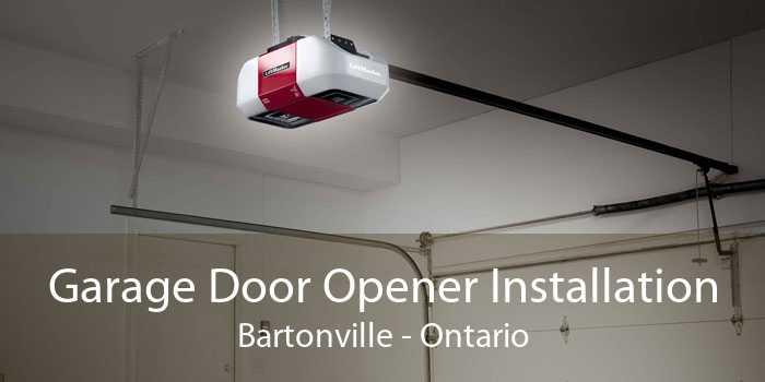 Garage Door Opener Installation Bartonville - Ontario