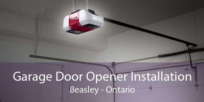 Garage Door Opener Installation Beasley - Ontario
