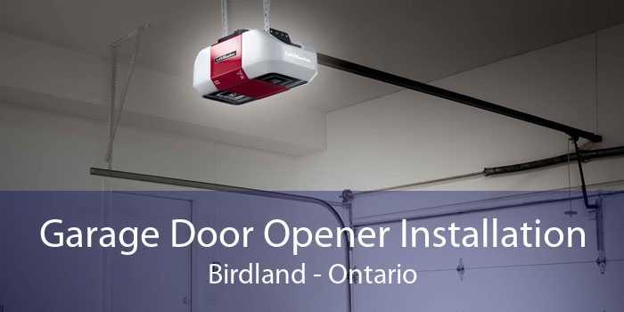 Garage Door Opener Installation Birdland - Ontario