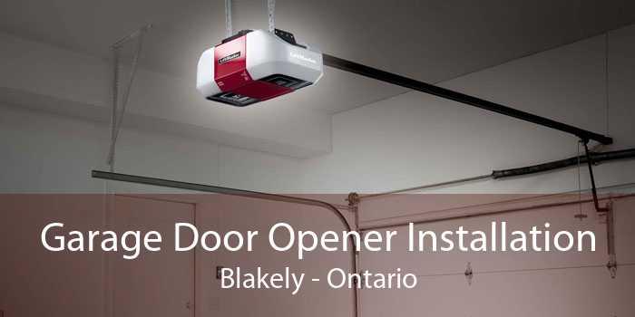 Garage Door Opener Installation Blakely - Ontario