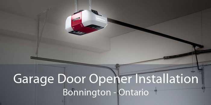 Garage Door Opener Installation Bonnington - Ontario