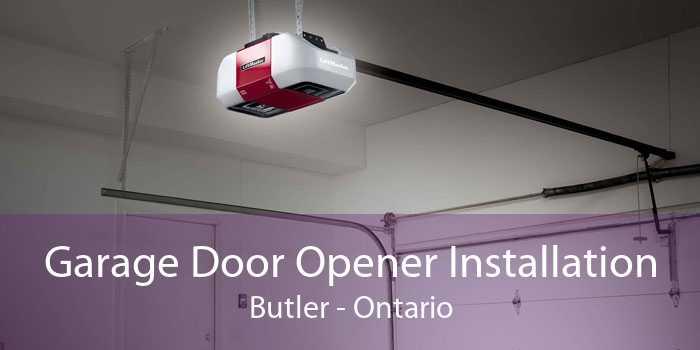 Garage Door Opener Installation Butler - Ontario