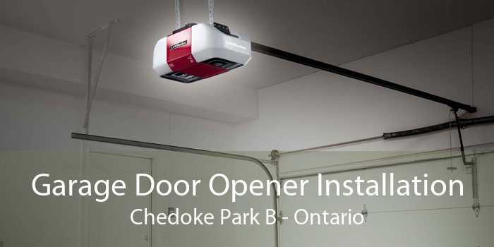 Garage Door Opener Installation Chedoke Park B - Ontario