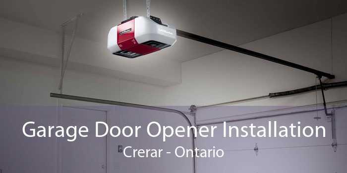 Garage Door Opener Installation Crerar - Ontario