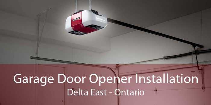 Garage Door Opener Installation Delta East - Ontario