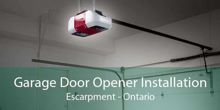 Garage Door Opener Installation Escarpment - Ontario