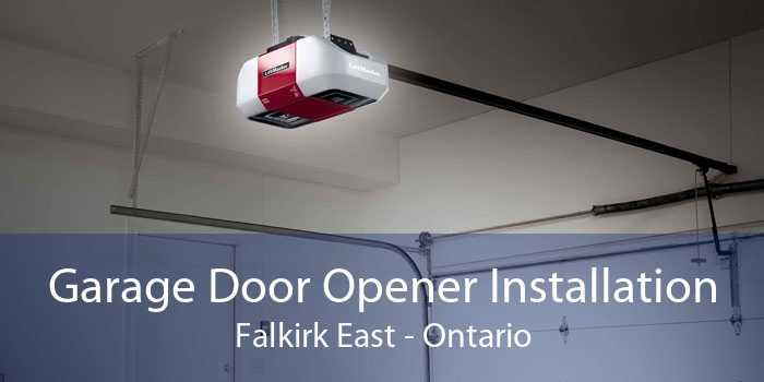 Garage Door Opener Installation Falkirk East - Ontario