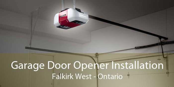 Garage Door Opener Installation Falkirk West - Ontario