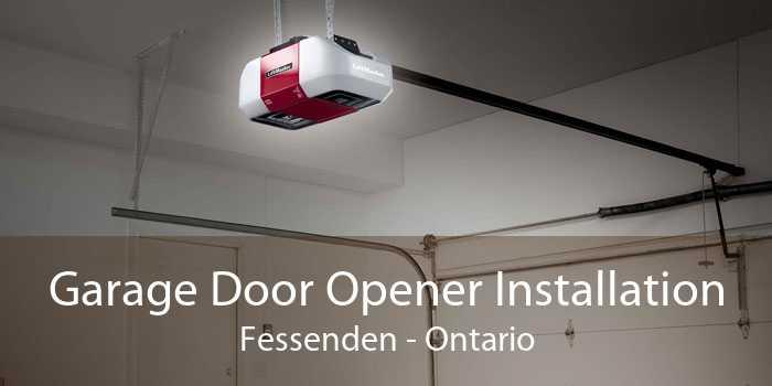 Garage Door Opener Installation Fessenden - Ontario