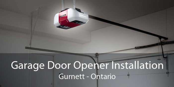 Garage Door Opener Installation Gurnett - Ontario