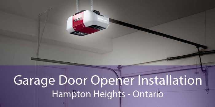 Garage Door Opener Installation Hampton Heights - Ontario