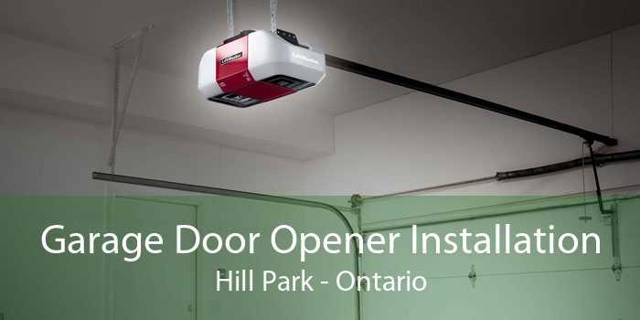 Garage Door Opener Installation Hill Park - Ontario