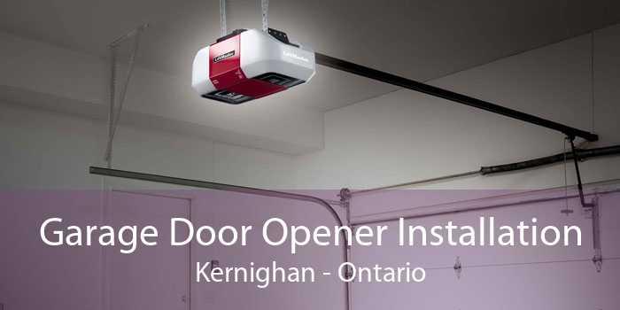 Garage Door Opener Installation Kernighan - Ontario