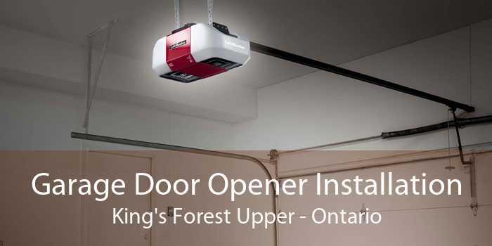 Garage Door Opener Installation King's Forest Upper - Ontario