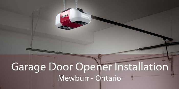 Garage Door Opener Installation Mewburr - Ontario