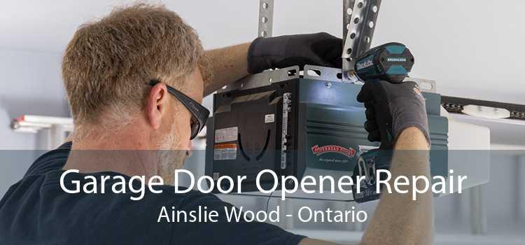 Garage Door Opener Repair Ainslie Wood - Ontario