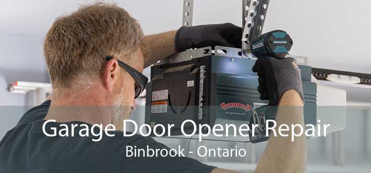 Garage Door Opener Repair Binbrook - Ontario