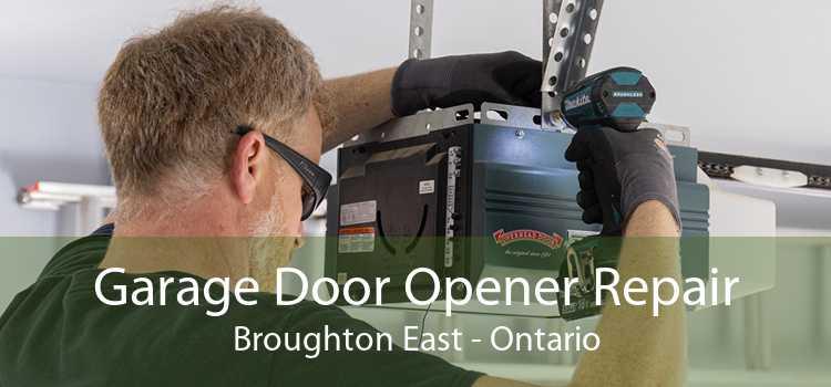 Garage Door Opener Repair Broughton East - Ontario