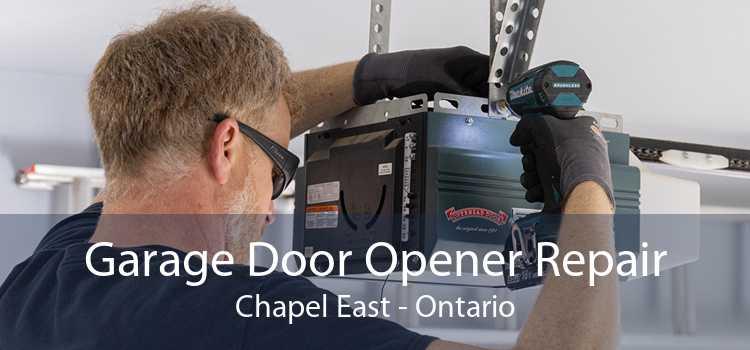 Garage Door Opener Repair Chapel East - Ontario
