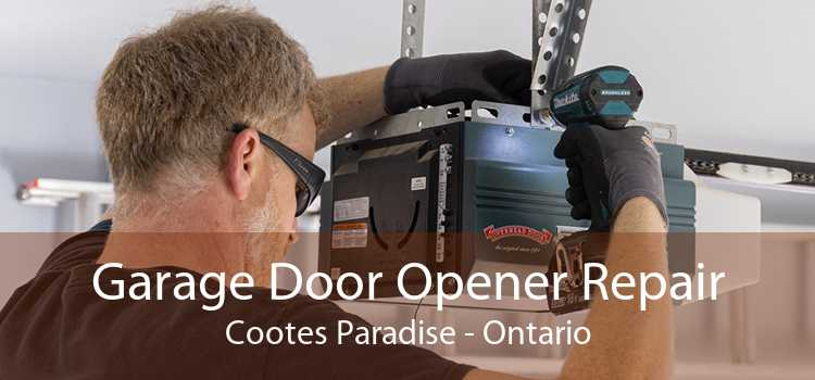 Garage Door Opener Repair Cootes Paradise - Ontario