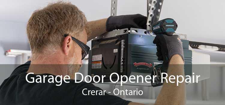 Garage Door Opener Repair Crerar - Ontario
