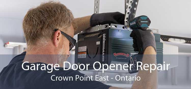 Garage Door Opener Repair Crown Point East - Ontario