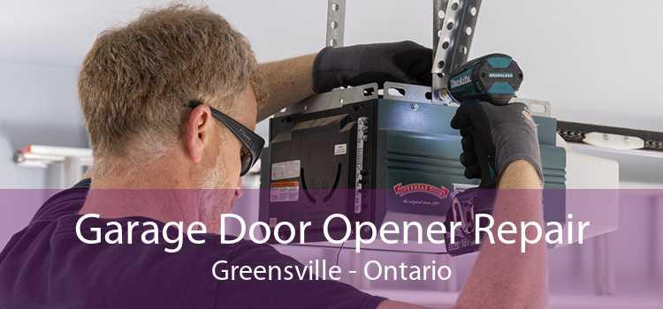Garage Door Opener Repair Greensville - Ontario