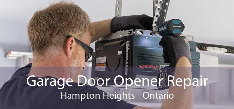 Garage Door Opener Repair Hampton Heights - Ontario