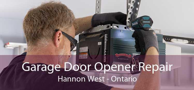 Garage Door Opener Repair Hannon West - Ontario