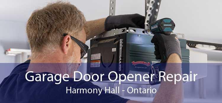Garage Door Opener Repair Harmony Hall - Ontario